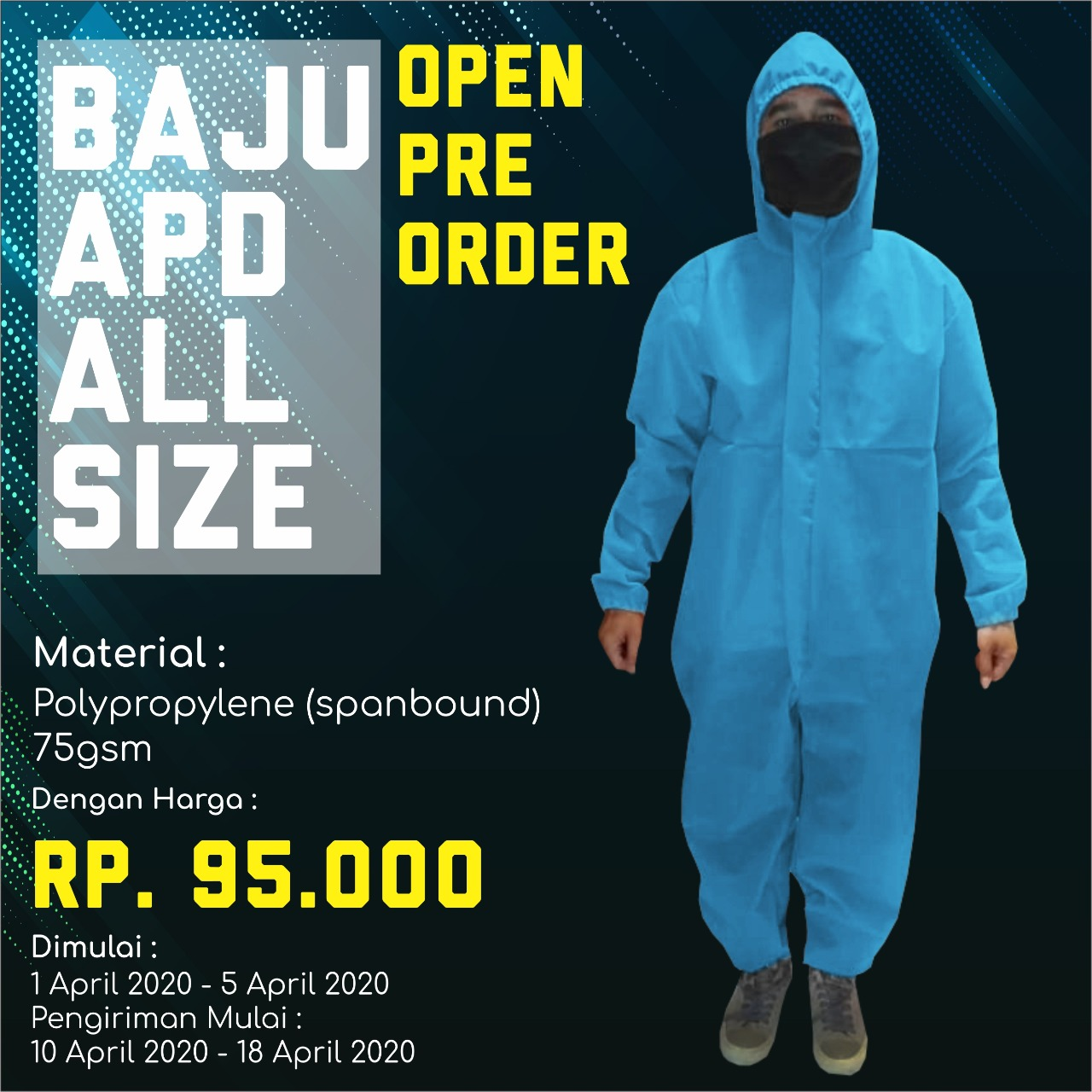BAJU SPOND BOND WARNA